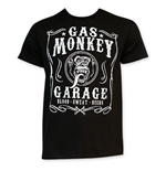 Camiseta Gas Monkey Garage Jack Daniels Style