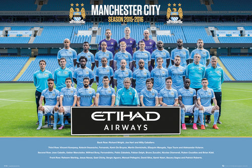 Póster Manchester City FC 192253