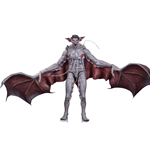 Batman Arkham Knight Figura Man-Bat 17 cm