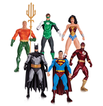 Justice League Pack de 6 Figuras Alex Ross 18 cm