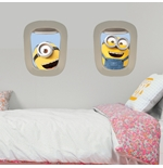 PEGATINAS DE PARED Los Minions Air