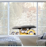 PEGATINAS DE PARED Los Minions Windows Manhole