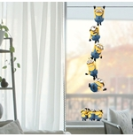 Pegatina para pared Minions Windows Chains