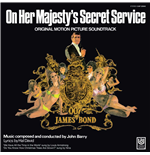 Vinilo John Barry - 007 On Her Majesty's Secret Service