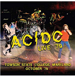 Vinilo Ac/Dc - Live '79 - Towson State College, Maryland October '79 (2 Lp) 180gr