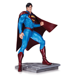 Superman The Man Of Steel Estatua Cully Hamner 18 cm