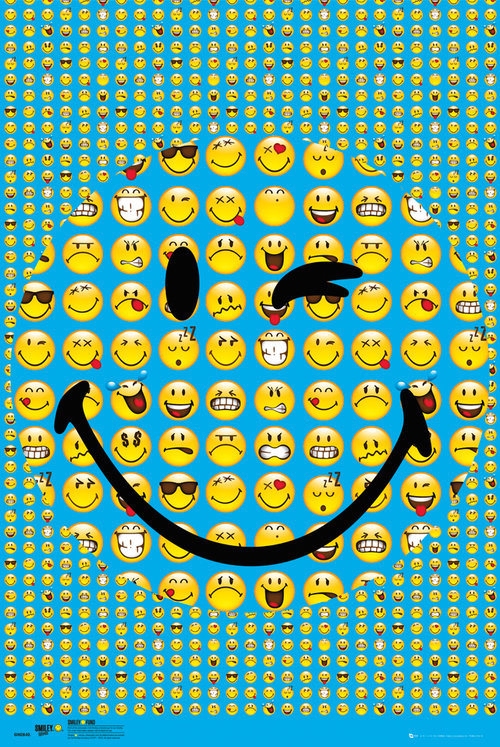 Póster Smiley Smile