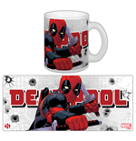 Marvel Comics Taza Deadpool Katana Rama