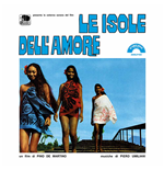 Vinilo Piero Umiliani - Le Isole Dell'amore 180gr (Ltd.Ed.Transparent Blue Vinyl)