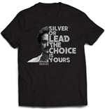 Camiseta Narcos Silver Or Lead