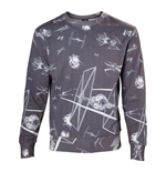 Sudadera Star Wars Imperial Fleet TIE Fighters All-Over Print - Small