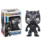 Captain America Civil War POP! Vinyl Cabezón Black Panther 10 cm