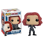 Captain America Civil War POP! Vinyl Cabezón Black Widow 10 cm