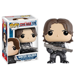 Captain America Civil War POP! Vinyl Cabezón Winter Soldier 10 cm