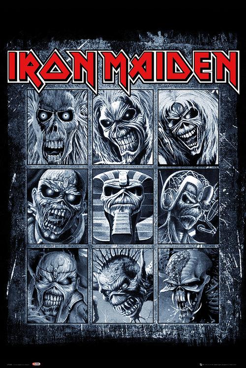 Productos oficiales Iron Maiden: camisetas, ropa y gadgets a precios inmejorables