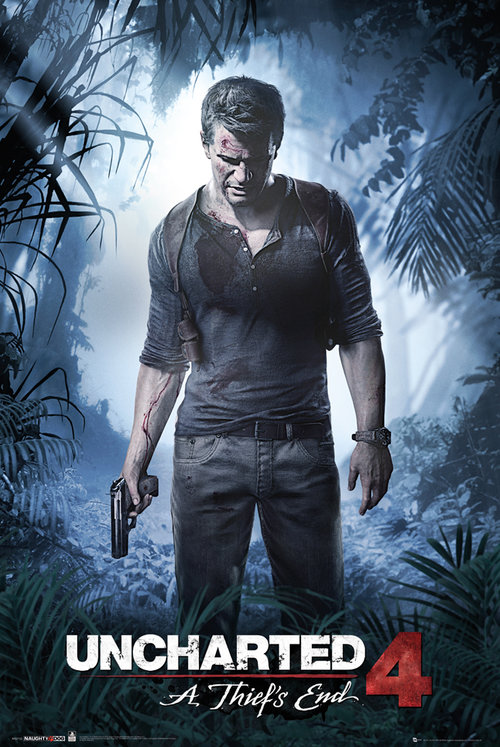 Póster Uncharted 4 A Thiefs End
