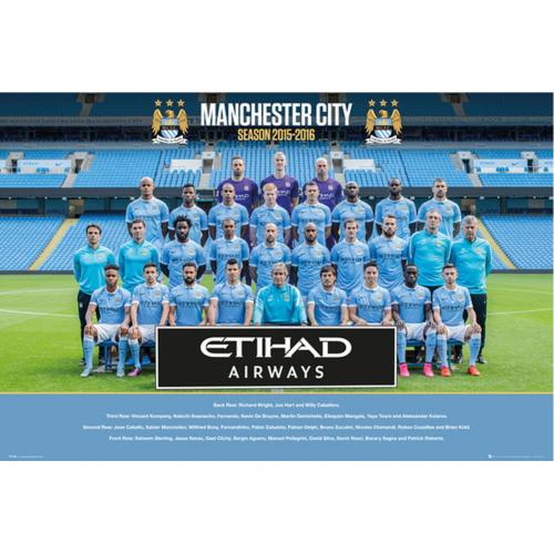 Póster Manchester City FC 194660