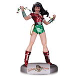 DC Comics Bombshells Estatua Holiday Wonder Woman 27 cm