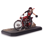 Gotham City Garage Estatua Harley Quinn 22 cm