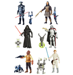 Star Wars Figuras 10 cm 2016 Jungle/Space Wave 2 Surtido (12)