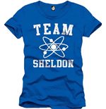 Camiseta Big Bang Theory - Team Sheldon