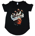 Camiseta Judas Priest British Steel de chica