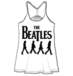 Camiseta Beatles de mujer Abbey Road Walking