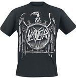 Camiseta Slayer Hi-Contrast Eagle