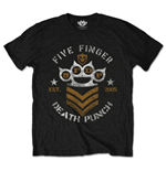 Camiseta Five Finger Death Punch Chevron