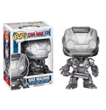 Captain America Civil War POP! Vinyl Cabezón War Machine 10 cm