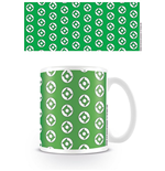 DC Originals Taza Green Lantern Logo Pattern
