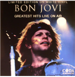 Vinilo Bon Jovi - Greatest Hits Live On Air  (White Vinyl)