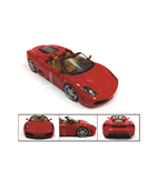 Maqueta 1:18 Ferrari 430 Spider Red