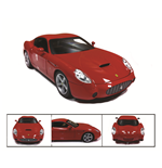 Maqueta 1:18 Ferrari 575 GTZ by Zagato Red