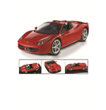 Maqueta 1:18 Ferrari 458 Spider Red
