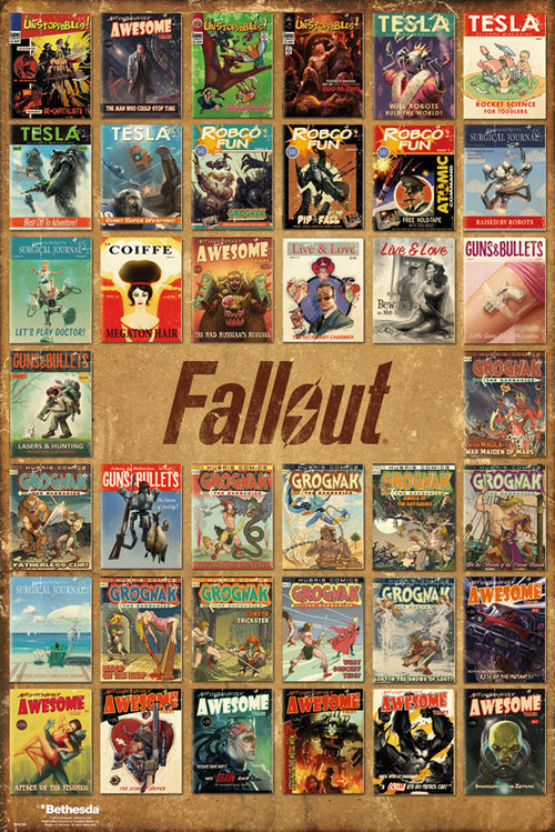 Póster Fallout 196667