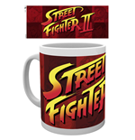 Street Fighter Taza Logo II
