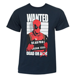 Camiseta Deadpool Dead And Wanted
