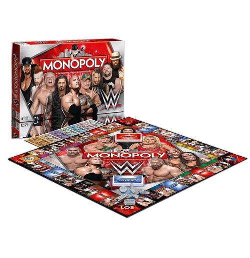 Compra Wwe Wrestling Juego De Mesa Monopoly Edicion Aleman