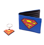 Cartera y Llavero Superman