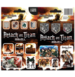 Attack on Titan Pegatina Vinilo Pack Mix (10)