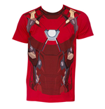 Camiseta Capitán Ámerica Civil War IRON MAN