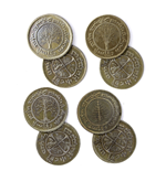 El Hobbit Set de Monedas #6 4 Shire Tuppences
