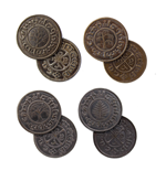 El Hobbit Set de Monedas #5 4 Shire Pennies
