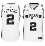 Camiseta San Antonio Spurs Kawhi Leonard adidas New Swingman Home Blanco
