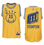 Camiseta Golden State Warriors Klay Thompson Hardwood Classics Swingman