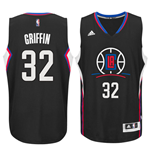 Camiseta Los Angeles Clippers Blake Griffin adidas New Swingman Alternate Negro