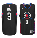 Camiseta Los Angeles Clippers Chris Paul adidas New Swingman Alternate Negro