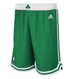 Shorts adidas Boston Celtics Green New Swingman