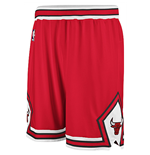 Shorts adidas Chicago Bulls Swingman Rojo